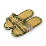 Плетёные тапочки (из соломы)