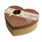 Подарочные коробки (сердечки, комплект)