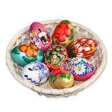 Пасхальные яйца из дерева