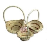 Плетеная корзина (цветочная)