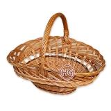 Плетеная корзина (фруктовая)