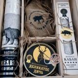 Набор деликатесов (олень, лось, кабан, медведь)