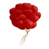 Облако шаров  - Сердце