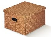 Большая коробка с ручками-прорезями