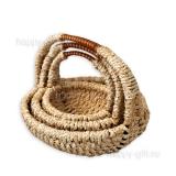Плетеные корзины (комплект)