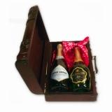 Деревянная упаковка под вино