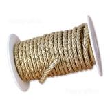 Шнур для упаковки (золотой)
