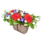 "Корзина цветов ""Летние Утро"""
