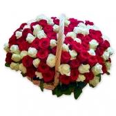 "Подарочная корзина ""101 роза"""