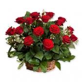 """Корзина цветов """"Для любимой"""""""