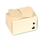 Картонная коробка дримкоут (кремовая)
