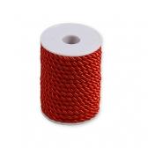 Шнур декоративный (красный)
