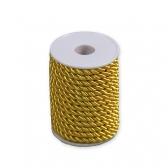 Шнур декоративный (желтый)