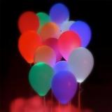 Букет из шаров (светящиеся, ассорти)