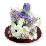 Фигура из цветов