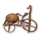 Декоративный велосипед (кокос)