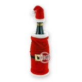 "Декор бутылки ""Дед Мороз"""