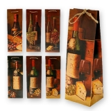 Подарочные пакеты под вино
