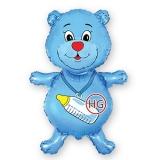 """Фольгированный шар """"Медвежонок"""""""