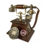 Ретро-телефон кнопочный