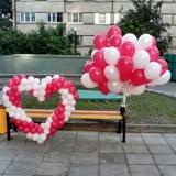Запуск шаров (облако и сердце)