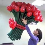 """Букет из цветов """"Влюбленное сердце"""""""