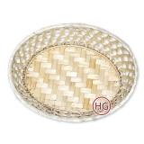 Плетеный лоток овальный (хлебница)