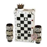 """Подарочный набор из керамики """"Шахматы"""""""