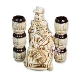 """Подарочный набор из керамики """"Охотники"""""""