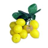 Бутоньерка декоративная (Лимоны)