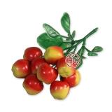 Бутоньерка декоративная (Яблоки)