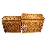 Сундуки плетеные  (комплект)