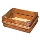 Деревянный ящик (коричневый)