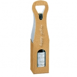 Золотая упаковка под вино
