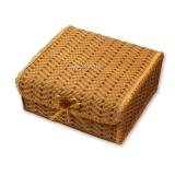 Плетеный чемодан из бамбука